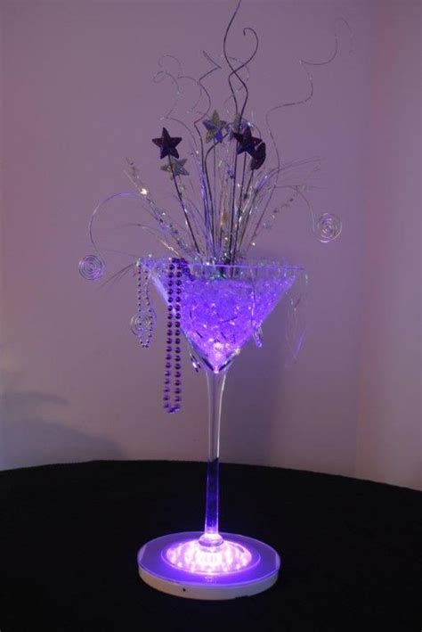 25 best ideas about martini centerpiece on