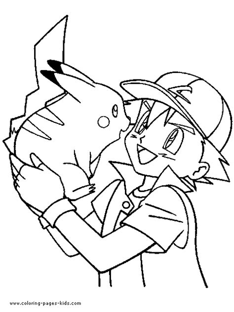 coloring pages of pokemon characters pokmon color page cartoon color pages printable