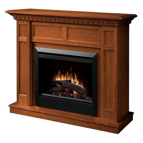Oak Electric Fireplace Dimplex Caprice Free Standing Electric Fireplace In Warm Oak Dfp4743o