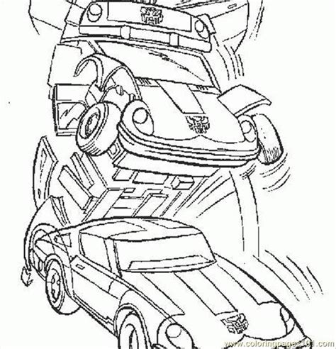 coloring pages transformers 3 450x468 cartoons