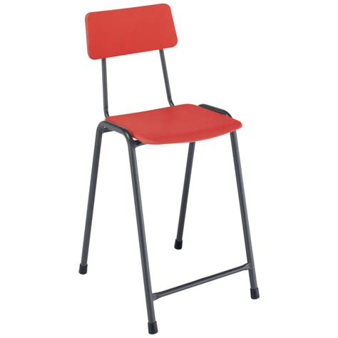 School Stools by Remploy Mx05 Classic School Craft Lab Stool Backrest