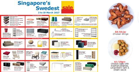ikea sales 2017 ikea to run singapore s swedest sale with great offers on