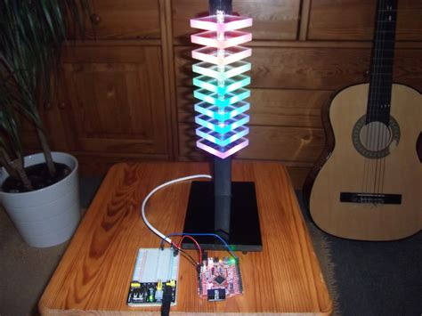 Mood Light Led 5050 Rgb With Usb Controller mood l with a digital rgb led ws2811 ws2812 an arduino acrylic glass and a few