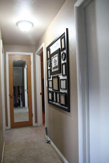 small hallway gallery wall narrow hallway decorating