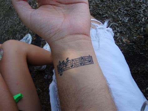 cool music tattoos 52 tattoos on wrist