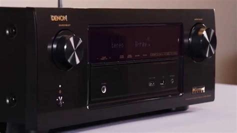 denon avr xw home theater receiver crutchfield video