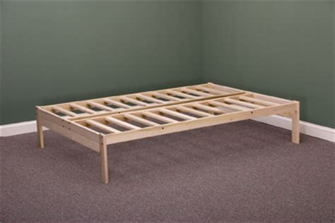 nomad bed frame nomad platform bed by futons net