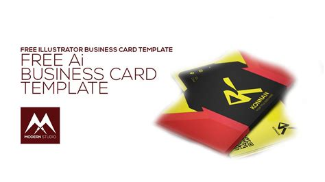 Free Ai Business Card Templates by Business Card Template Illustrator File Designs Ai Free