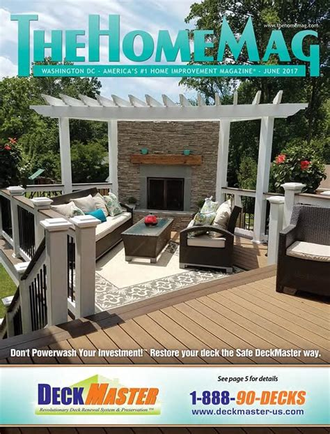 june 2017 issue of thehomemag 174 deckmaster
