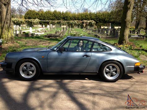 porsche slate gray metallic porsche 911sc coupe 1983 model rare slate grey metallic
