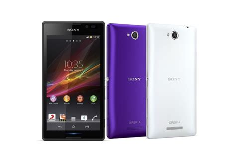 sony xperia c with 5 inch display dual sim launched at rs