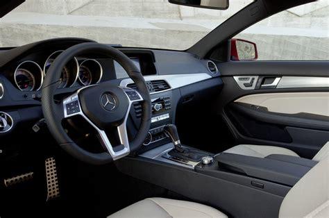 2012 mercedes c class coupe interior