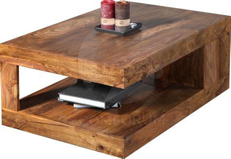 table basse salon bois table basse rectangle bois massif comforium