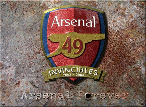 arsenal unbeaten invincibles wallpaper invinciblog