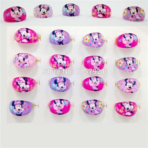 20pcs Wholesale Mixed Lots Children Resin Rings Jewe 2016 free shipping 20pcs mix resin minnie children rings wholesale jewelry