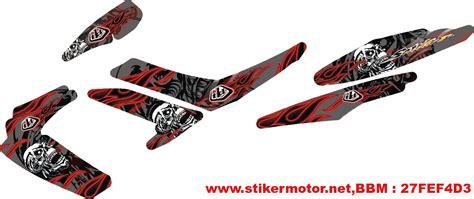 Striping Suzuki Sky Wave Alpinestars 1 striping motor satria fu skull stikermotor net