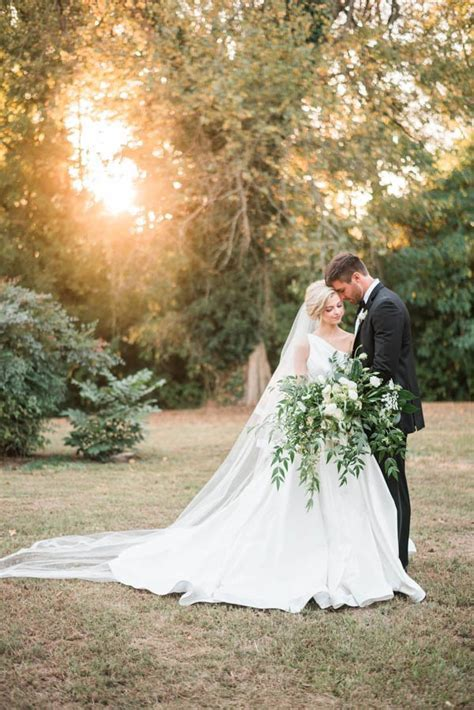 Southern Plantation Wedding Inspiration at Magnolia Grove