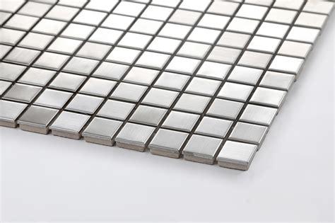 stainless steel bathroom tiles stainless steel mosaic tiles sheets bathroom kitchen splashback tile mosaics ebay