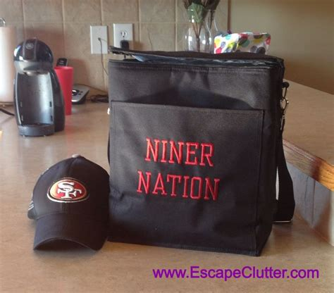 christmas gifts for 49ers fans gifts for men picnic thermal tote nfl football