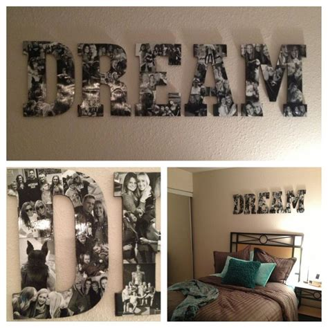 Room Diy Decor Easy Room Decoration Diy Roomdecor Dormroom It Was So Easy To Make These Letters Just