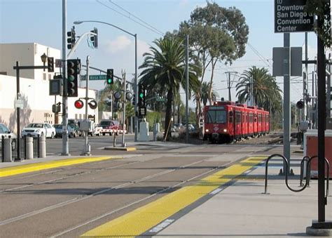 San Diego Light Rail by Orange Line