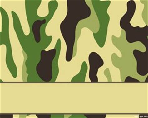 camouflage powerpoint template powerpoint templates