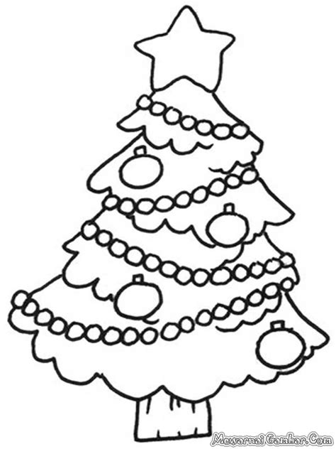 Mewarnai Gambar Natal | Mewarnai Gambar
