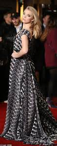 Premier Overall Set Dress By Maritza shows sideboob at the hunger mockingjay uk premiere daily mail