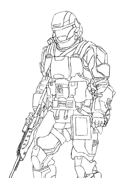 fearless halo 3 coloring sheets halo coloring pages for