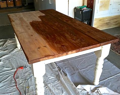 how to stain a dining room table how to strip down your dining table for a special occasion