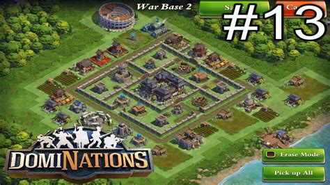 layout game of war dominations episode 13 new medieval age war base layout