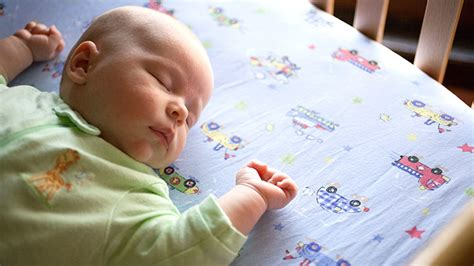 baby not sleeping in crib encouraging your baby to sleep on his or back what