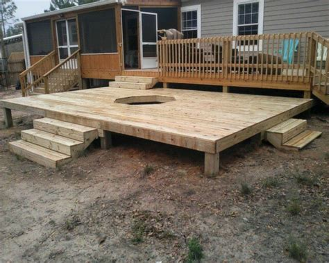 pit built into wood deck outdoor gas pit on deck search all deck