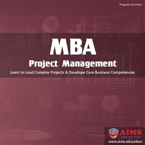 Mba In Project Management New York by Mba Project Management Online