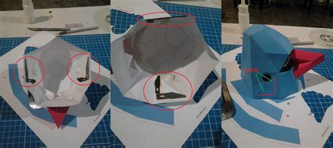 Papercraft Tips - tips papercraft nosepass by odnamra22 on deviantart