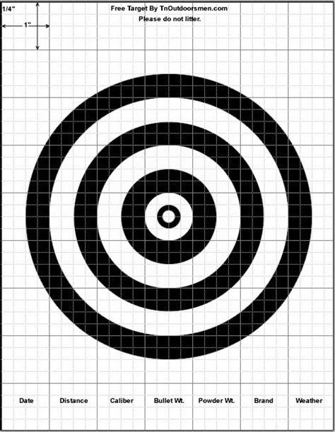 free printable shooting targets for pistol rifle airgun free targets printable shooting rifle pistol shotgun