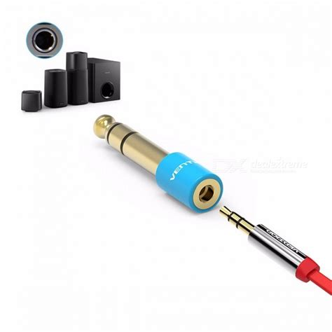 Headphone Adapter 35mm 18 To 65mm 14 Stereo 1p Limited Vention Guitar Adapter 6 5mm 1 4 Quot To 3 5mm 1 8