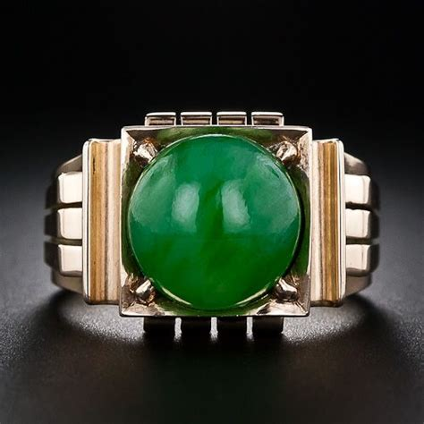 Gents On Pinterest 60 Pins | gents retro jade ring rings and things pinterest