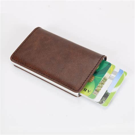 wallet mini arrival new blocking rfid wallet mini leather business