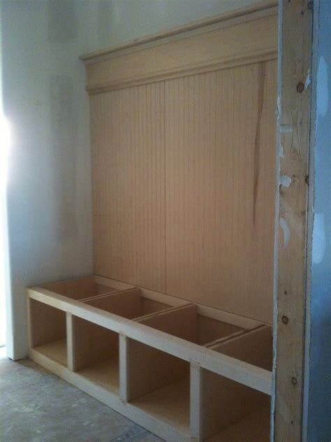 mudroom bench storage mudroom bench with storage plans