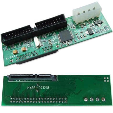 Converter Hardisk Ata Ke Usb jual new 2 5 quot 3 5 quot drive sata to ata ide converter adapter hdd bluedev1l