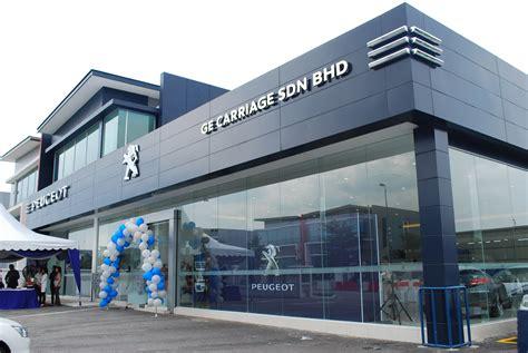 peugeot company nasim opens peugeot blue box kota damansara