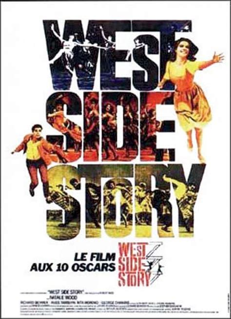 rekomendasi film west series affiche du film west side story affiche 2 sur 2 allocin 233