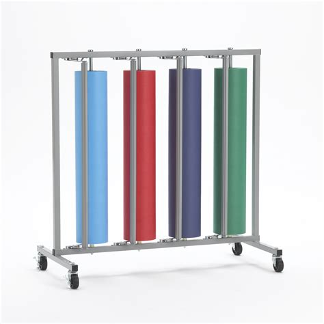 paper rack four roll vertical paper rack bulman products
