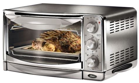 toaster oven with light inside openbox oster 6297 6 slice convection toaster oven