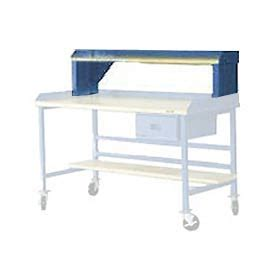 plastic work bench mobile work bench fixed height 60 quot plastic riser