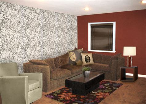 red and brown living room ideas brown and red living room ideas