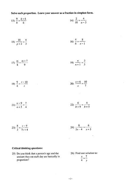 7th Grade Math Worksheet by 10 Best Images Of 7th Grade Math Worksheets With Answer