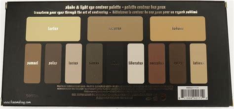 kvd shade and light kvd shade light eye contour palette review kirei makeup