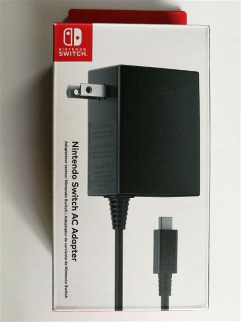 Adaptor Switch recommended for nintendo switch ac adapter by nintendo